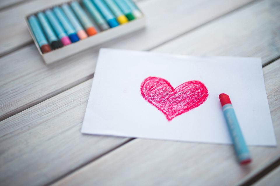 אהבה|צילום: אתר StockSnap.io