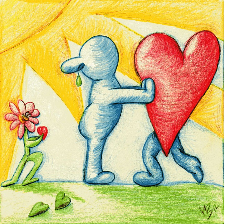את הלב השבור ניתן לרפא באמצעות הזולת | pixabay